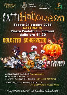 TuttoPerTutti: GATTI-HALLOWEEN (VC) - 31 OTTOBRE 2015