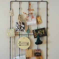 Large Metal Photo Wall Rack - $48.00