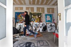 In The Make - fascinating insight into artist's studios and work