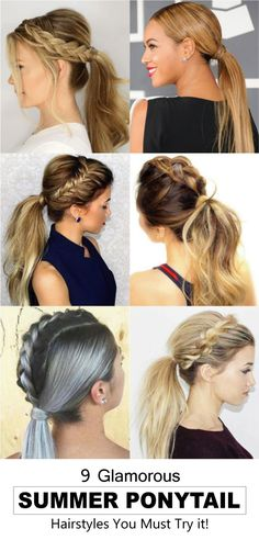 These lovely ponytail hairstyles are very much easy to apply. It may look hard. The styles are suitable for any type of parties and functions. You may wear any type of outfit with any of the hair styles. Overall the hairstyles are very much adorable for t