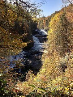 Triple Falls at Dupont State Forest - North Carolina