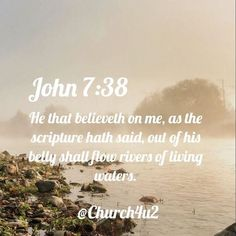 John 7:38 KJV