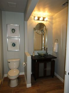 Kids/Guest Bathroom Update - From Builder Basic to WOW on a Budget