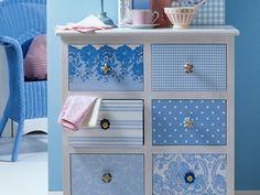 38 besten m bel streichen bilder auf pinterest refurbished furniture painted furniture und - Serviettentechnik auf mobel ...