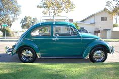 My dads green Beetle was the best car, loud & bouncy & no seatbelts required!