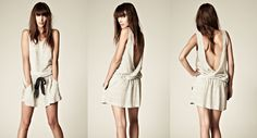 A new french brand, Cozette, and its very sensual top. I want it !
