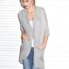 Londrina Cashmere Sweater - Grey by ROCK by Stella and Jamie