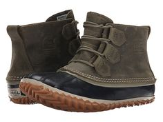 SOREL Out 'N About™ Leather Quarry/Madder Brown
