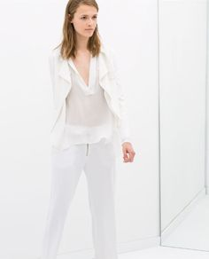 JACKET WITH BUCKLE COLLAR - Outerwear - WOMAN - SALE | ZARA United