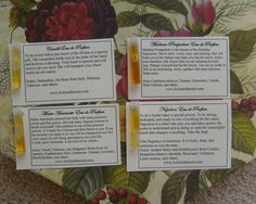 To Attract Confidence - Natural Perfume Samples