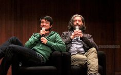 The unbelievable fabulousness and adorableness that is an @Omundson and @OsricChau panel! #AHBL6