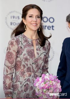 Crown Princess Mary of Denmark attends The Parliament and Government's Celebration of The 100th Anniversary of The 1915 Danish Constitution, at The Tivoli Hotel and Convention Center, on June 4th, 2015 in Copenhagen, Denmark (Photo by Julian Parker/UK Press via Getty Images)