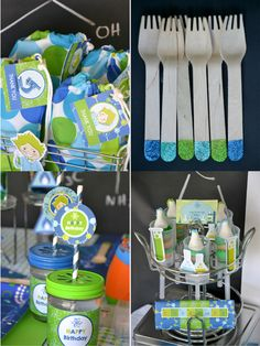 Mad Science Birthday Party Ideas with DIY decorations and printables!! - BirdsParty.com