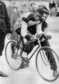 At the turn of the previous century Major Taylor was an American cycling sensation