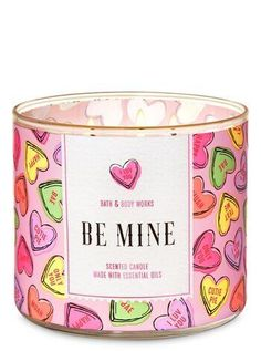 The best personalised presents to give this Valentine's Day - Bath & Body Works Just Dropped Brand New Fragrances for Valentine's Day - Bath Candles, 3 Wick Candles, Scented Candles, Aromatherapy Candles, Bath N Body Works, Bath And Body Works Perfume, New Fragrances, Mandala Tattoo Design, Valentines