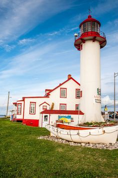 Matane Lighthouse, Quebec, Canada