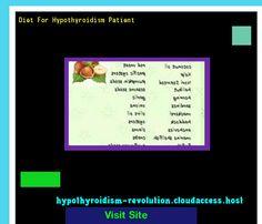 Diet For Hypothyroidism Patient 120731 - Hypothyroidism Revolution! Hypothyroidism Revolution.. http://hypothyroidism-revolution-h.blogspot.com?prod=ameD6Yoo