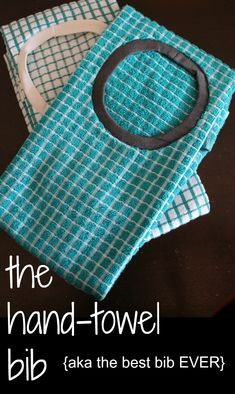 The best baby bib. It's practically a drop cloth! So easy to make and cheap too! Makes a GREAT baby gift. confettiandotherfun.com