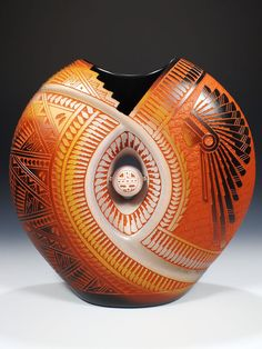Acoma Pueblo Pottery by Jr. and Diane Aragon