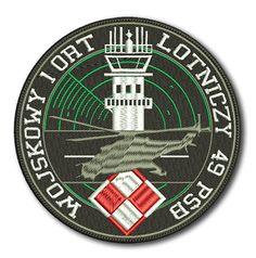 Naszywka Wojskowy 1 ORT Lotniczy 49 PSB