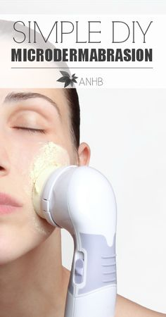 Simple DIY microdermabrasion that you can do at home. My face has never felt so