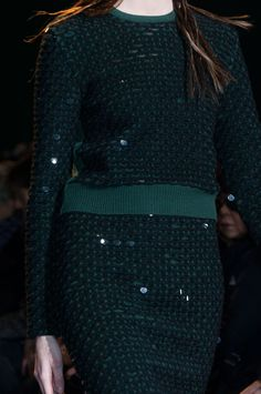 Cedric Charlier at Paris Fashion Week Fall 2014 - StyleBistro