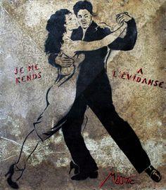 """Miss.Tic, """"Je me rends à l'évidanse"""", 2009"""