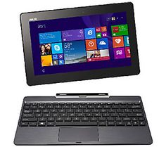 ASUS 10.1 32GB TransformerBook Intel Quad Core Windows 8.1 & MS Office 365