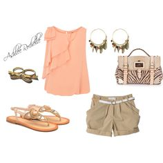 Light and Peachy, created by ashlee470 on Polyvore