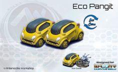 Eco-Cars Pangit City Car | Antenocitis Workshop