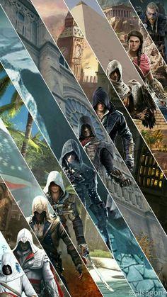 Assasin Creed Unity, Assassins Creed Funny, Assassins Creed Black Flag, Assassins Creed Series, All Assassins, Assassins Creed Origins, Assasins Cred, Assassin's Creed Hidden Blade, Assassin's Creed Black
