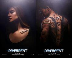Divergent tattoos