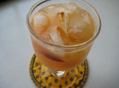 Southern  Bourbon Punch  12 ounce can frozen limeade   12 ounce frozen orange juice   2 cups iced tea    7 cups of water,   1-750 milliliter bottle of Kentucky Bourbon   and some citrus slices for garnish.