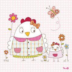 Resultados de la Búsqueda de imágenes de Google de http://media.parabebes.com/productos/0/9/5/l.cuadro-infantil-mama-gallina-lilipinso-and-co_1309246590.jpg