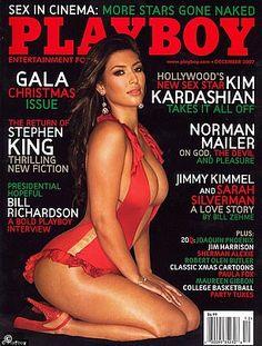 Kim Kardashian Magazine, Playboy, Jim Harrison, Charisma Carpenter, Norman Mailer, Playmates Of The Month, Burt Reynolds, Reality Tv, Journals