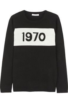 Bella Freud 1970 merino wool sweater | NET-A-PORTER