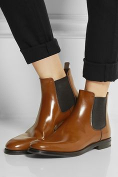 Church's|Monmouth glossed-leather Chelsea boots|NET-A-PORTER.COM