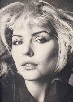 """People Talking About Deborah Harry"", Vogue US, July 1980Photographer: Richard AvedonModel: Debbie Harry"