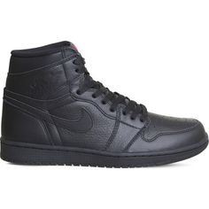 a1c24ee22e44f9 NIKE Air Jordan 1 Retro leather high-top trainers ( 170) ❤ liked on  Polyvore featuring men s fashion