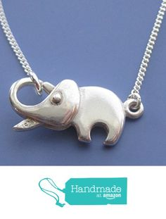 Elephant Clasp Necklace - the elephant's trunk opens up to clasp the necklace!  SO sweet!