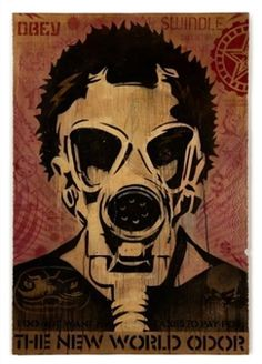 Obey New World Odor By Shepard Fairey ,2005