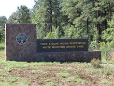 white mountain apache arizona   Welecome to the reservation!