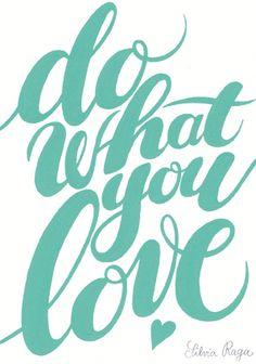 giochi di carta: Do What you Love {free printable}