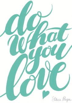 giochi di carta: Do What you Love {free printable}