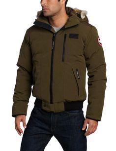 Canada Goose vest sale shop - Canada Goose Men's Borden Bomber, Silver Birch, X-Small Canada ...