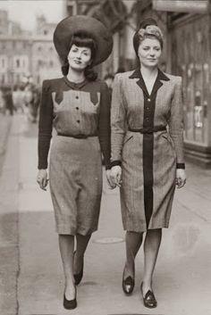 La moda a través del tiempo: años 40