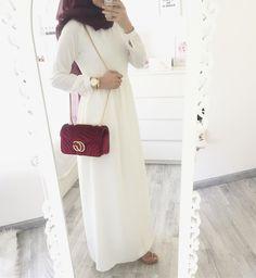 Hijab Outfit, Hijab Dress Party, Hijab Style Dress, Casual Dress Outfits, Hijab Chic, Modest Outfits, Modern Hijab Fashion, Muslim Women Fashion, Islamic Fashion