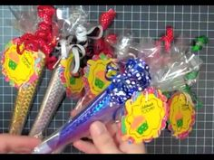Favors:: Candy Filled Part Favors Idea.