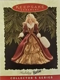 Enchanted Evening 1996 Barbie Doll for sale online Barbie Collector, The Collector, Hallmark Christmas Ornaments, Barbie Dolls For Sale, Enchanted Evening, Disney Princess, Holiday Decor, Disney Characters, Ebay