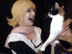 roxy, cosplay, cat, animated, mom